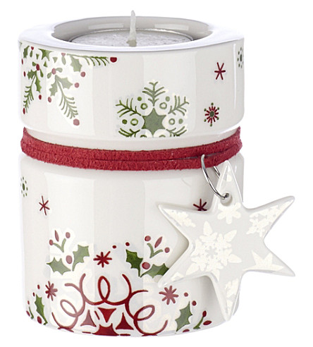 VILLEROY & BOCH NewModern Christmas tea light holder 8cm
