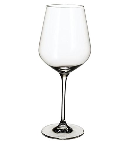 VILLEROY & BOCH La Divina burgundy wine goblet