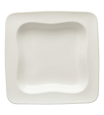 VIVO Square porcelain plate 23cm