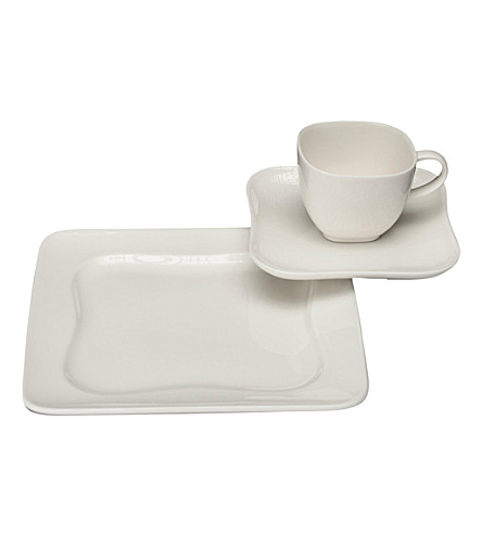 VIVO Design 0701 18-piece porcelain coffee set