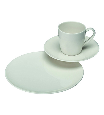 GALLO DESIGN Basic White coffee set 18 pieces