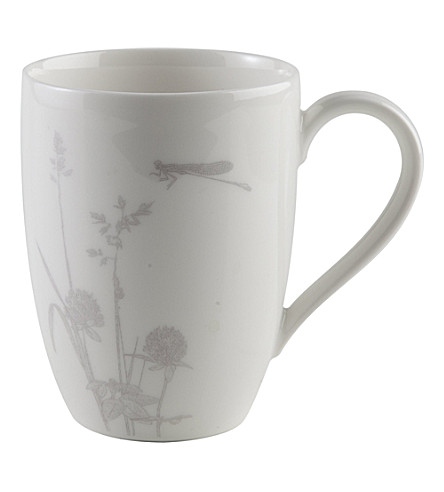 GALLO DESIGN Dragonfly porcelain mug