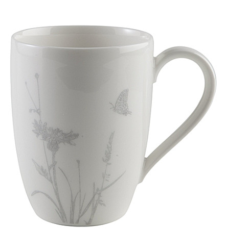 GALLO DESIGN Butterfly porcelain mug