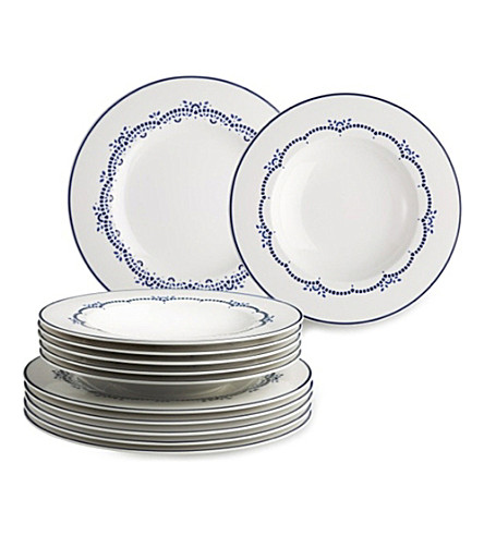 GALLO DESIGN Daily blue dinner set 12 pieces