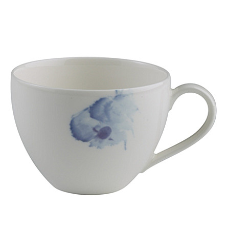 GALLO DESIGN Pansy coffee cup