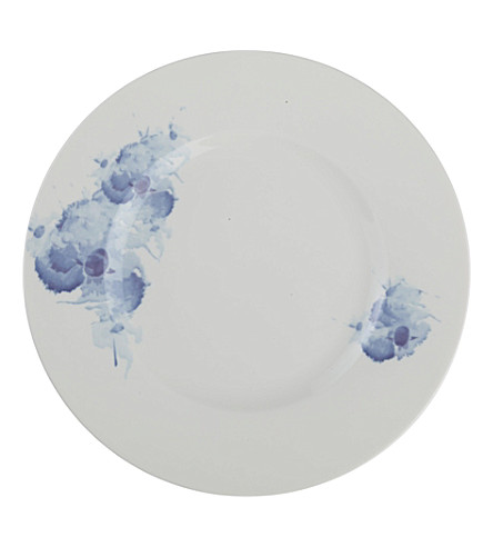 GALLO DESIGN Pansy porcelain plate 27cm