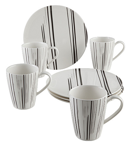 VIVO Lines up thin 8-piece coffee set