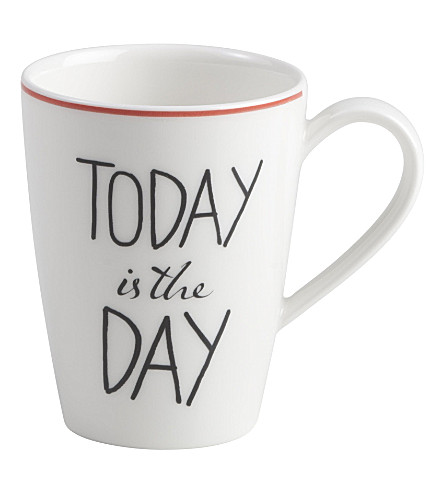 VIVO Today is the day quotes mug 300ml