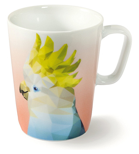 VIVO Exotic Birds cockatoo mug 0.30l