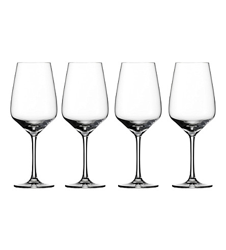 VIVO Voice Basic set of 4 crystal glass red wine glasses