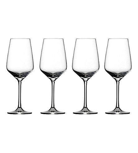 VIVO Voice Basic set of 4 crystal glass white wine glasses