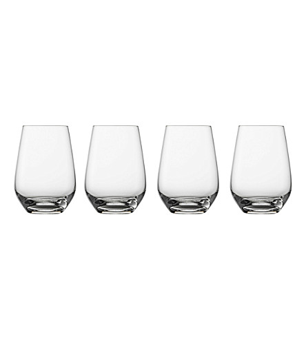 VIVO Voice Basic set of 4 crystal glass highball tumblers