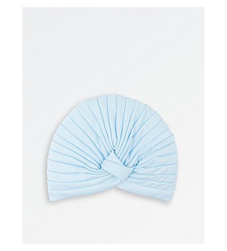 HOTHAIR Pleated turban (Baby+blue