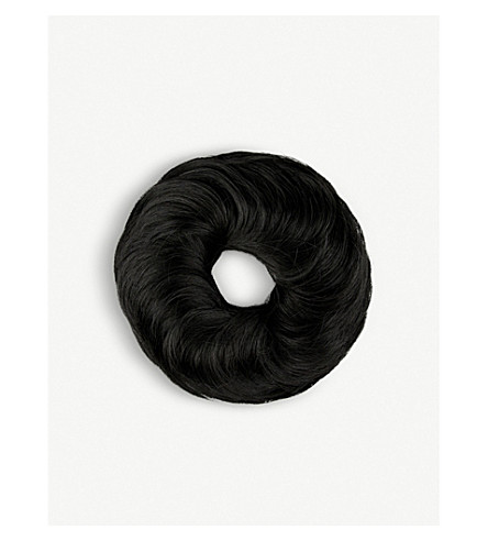 HOTHAIR POP Pouf Wrap synthetic hair scrunchie (Black