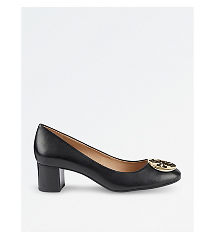 TORY BURCH Hope leather courts (Black
