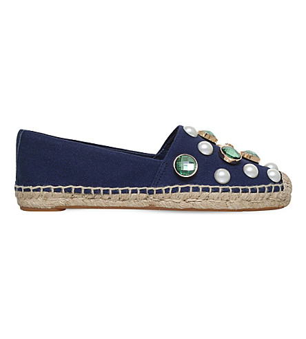 TORY BURCH Vail espadrille (Navy