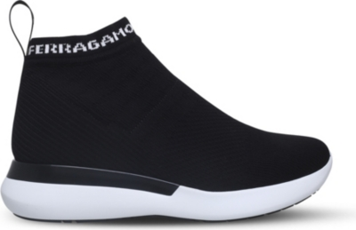 Salvatore Ferragamo Knitted sneakers