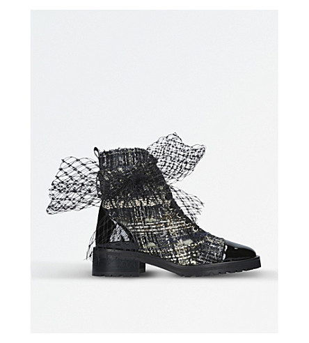 KURT GEIGER LONDON Dream tweed ankle boots (Mult/other