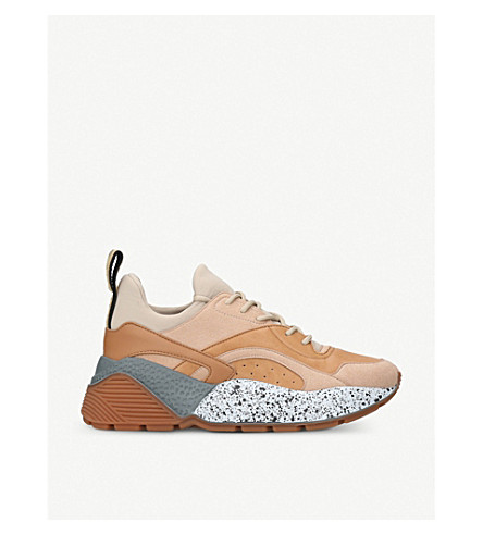 STELLA MCCARTNEY Eclypse trainers (Brown/oth