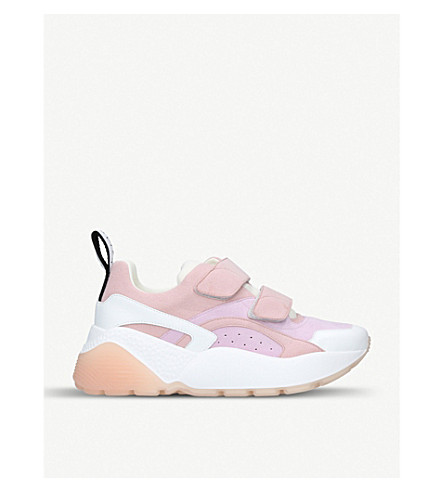 STELLA MCCARTNEY Eclypse trainers (Pale+pink