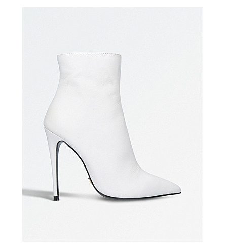 Ride stiletto ankle boots