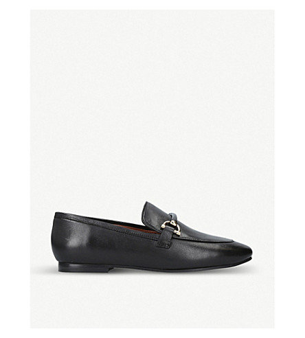 KURT GEIGER LONDON Karima leather loafers (Black