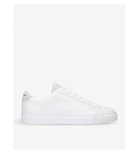 KURT GEIGER LONDON Lane leather trainers (White