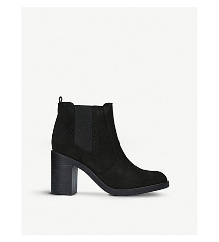 KURT GEIGER LONDON Sicily suede ankle boots (Black