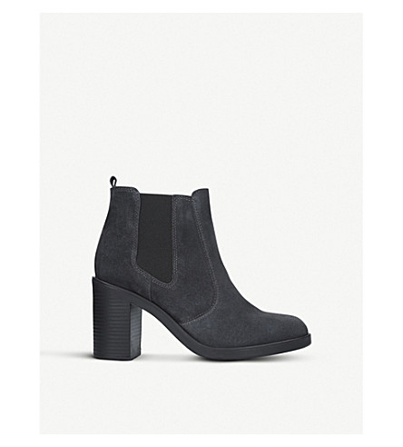 KURT GEIGER LONDON Sicily suede ankle boots (Grey