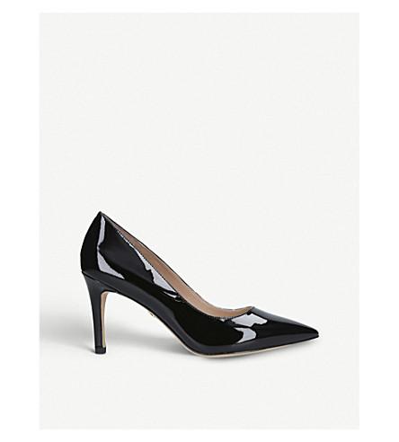 KURT GEIGER LONDON Lowndes patent-leather court shoes (Black