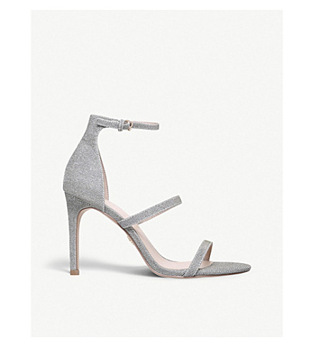 KURT GEIGER LONDON Park Lane metallic sandals (Silver