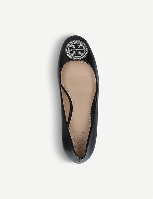 TORY BURCH Liana 45 leather courts