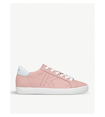 KURT GEIGER LONDON Leif 2 leather trainers (Nude