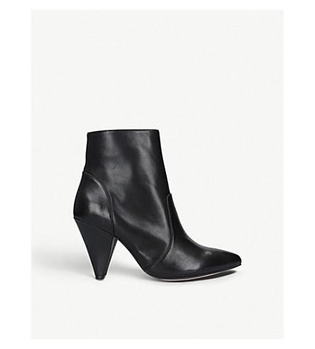 KURT GEIGER LONDON Violetta leather ankle boots (Black