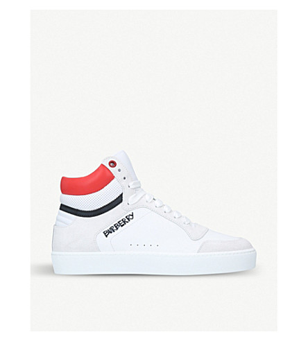 Reeth suede high-top trainers(2175811109)