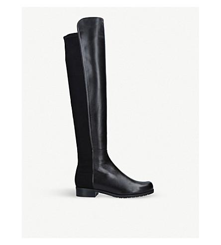 STUART WEITZMAN 50/50 leather knee-high boots (Black