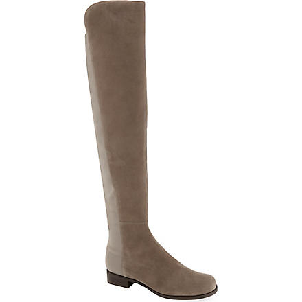 STUART WEITZMAN 50/50 knee-high boots (Taupe