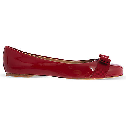 FERRAGAMO Varina pumps (Red