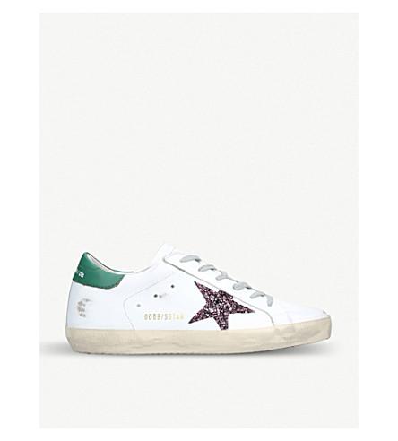 GOLDEN GOOSE Superstar H17 leather sneakers
