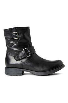 KURT GEIGER Shiloh leather biker boots