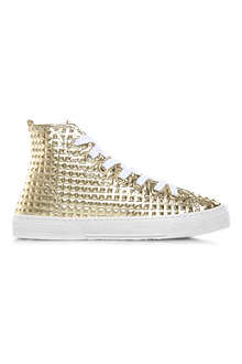 KURT GEIGER London Calling high-top trainers