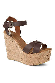 KURT GEIGER Contra wedge sandals