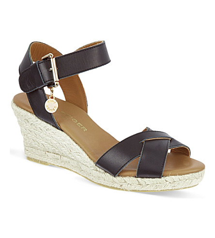 KURT GEIGER LONDON Lisbon sandals (Black