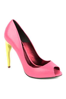 KURT GEIGER Poisenberry peep-toe courts