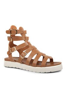 KURT GEIGER Let's Play leather sandals