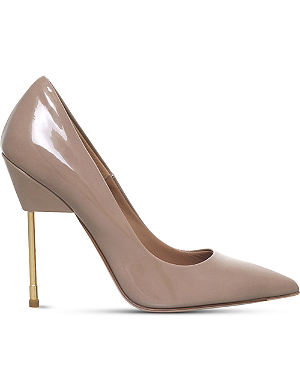 KURT GEIGER Elliot patent leather courts