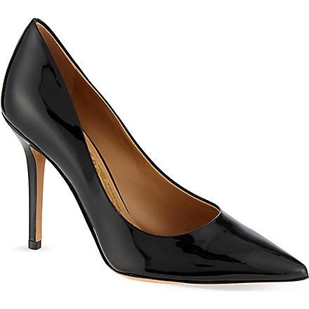 FERRAGAMO Susi court shoes (Black