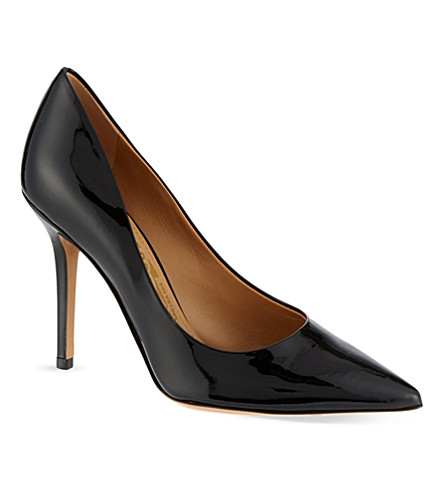FERRAGAMO Susi court shoes (Black