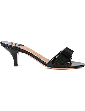 FERRAGAMO Glory 1 patent leather sandals