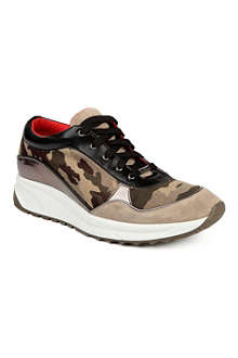 KURT GEIGER Racer leather trainers